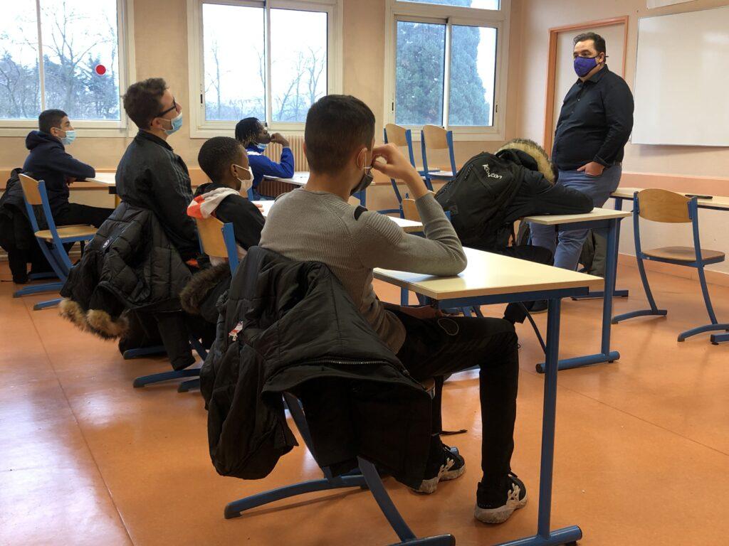 Collège Debussy Action de sensibilisation - Classe